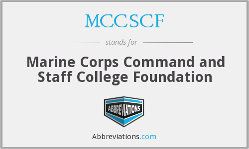 What does MCCSCF stand for?