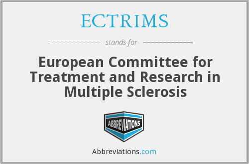 What does ECTRIMS stand for?