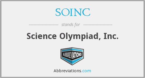 What does SOINC stand for?