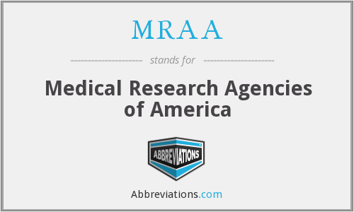 What does MRAA stand for?