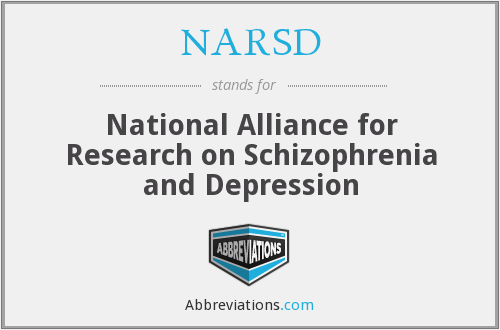 What does NARSD stand for?