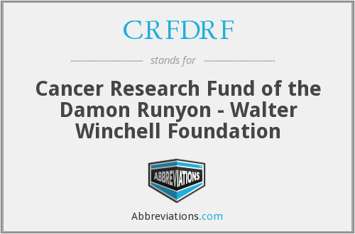What does CRFDRF stand for?