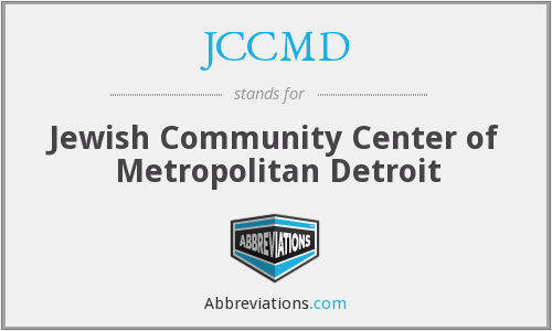 What does JCCMD stand for?