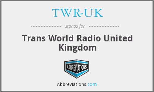 What does TWR-UK stand for?