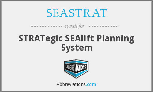 What does SEASTRAT stand for?