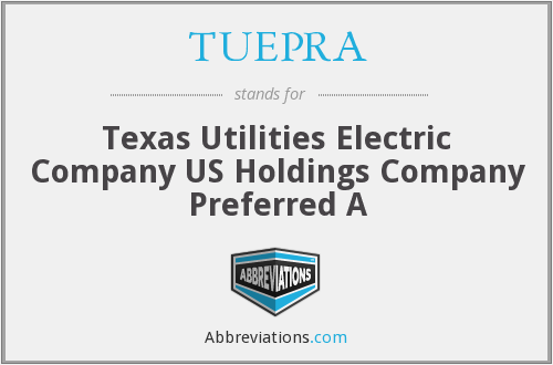 What does TUEPRA stand for?