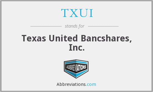 What does TXUI stand for?