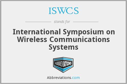 What does ISWCS stand for?