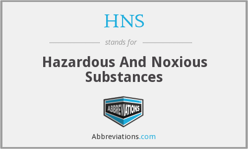 What does HNS stand for?