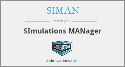 What does SIMAN stand for?