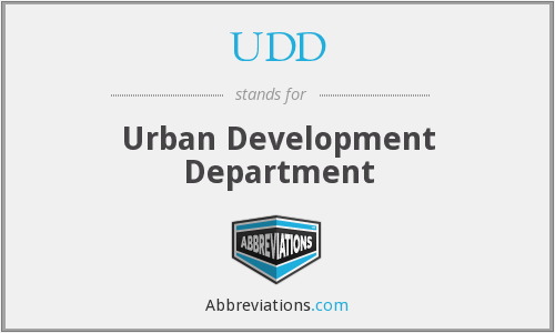 What does UDD stand for?