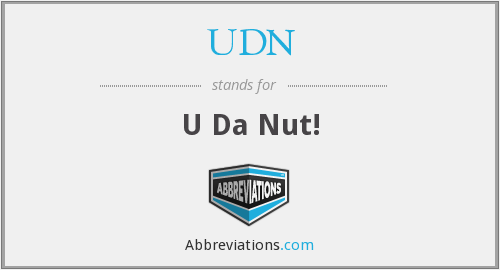 What does UDN stand for?