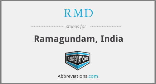 What does RMD stand for?