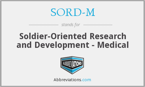 What does SORD-M stand for?