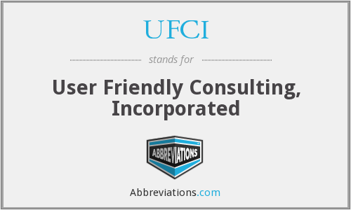 What does UFCI stand for?