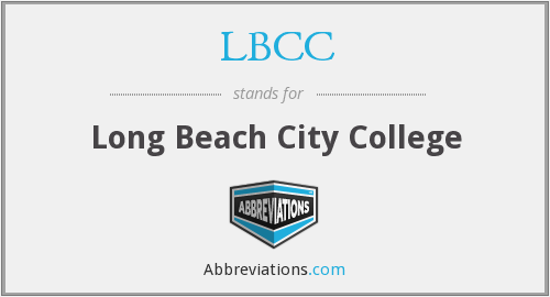 What does LBCC stand for?