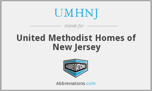 What does UMHNJ stand for?