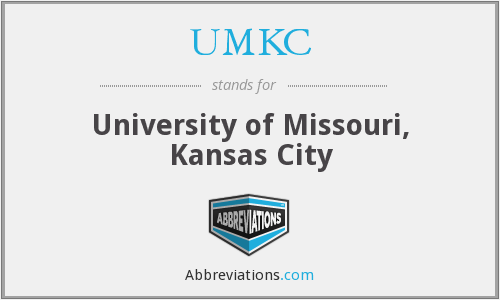What does UMKC stand for?