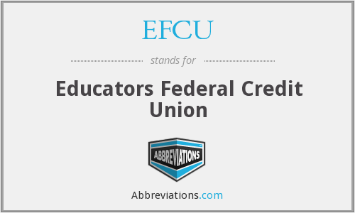 What does EFCU stand for?