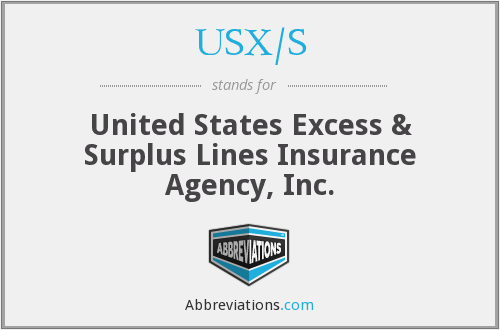 What does USX/S stand for?