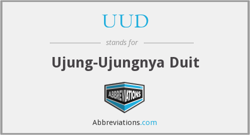 What does UUD stand for?