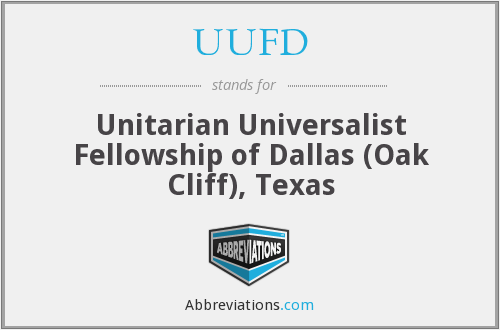What does UUFD stand for?