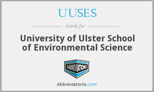 What does UUSES stand for?