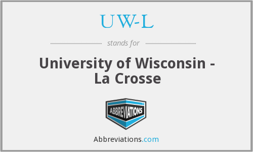 What does UW-L stand for?