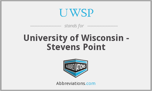 What does UWSP stand for?