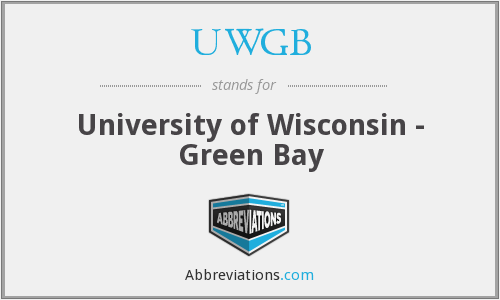What does UWGB stand for?