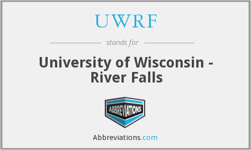 What does UWRF stand for?