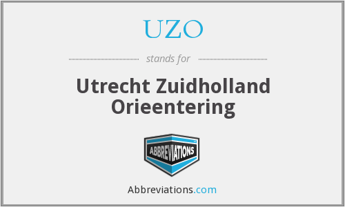 What does UZO stand for?