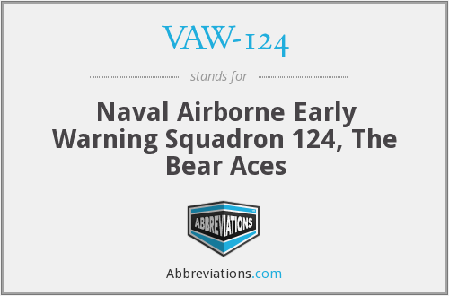 What does VAW-124 stand for?
