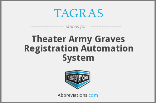 What does TAGRAS stand for?