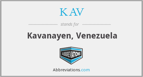 What does KAV stand for?