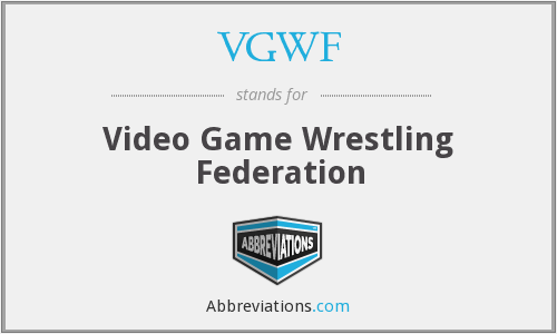 What does VGWF stand for?