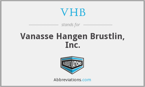 What does VHB stand for?