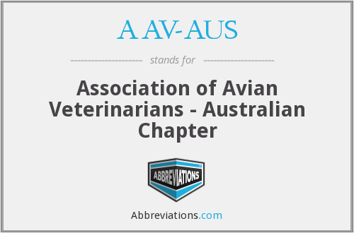 What does AAV-AUS stand for?