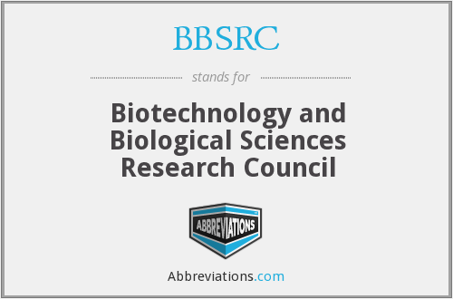 What does BBSRC stand for?