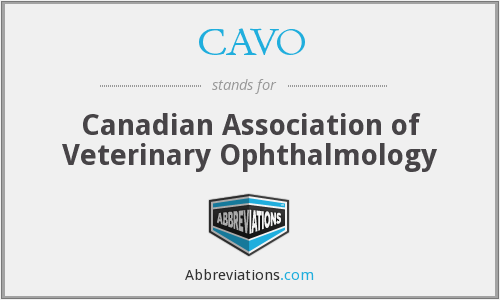 What does CAVO stand for?