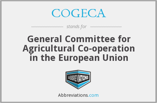 What does COGECA stand for?