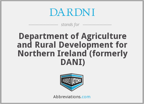 What does DARDNI stand for?