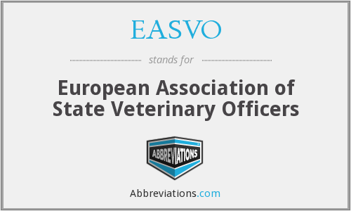 What does EASVO stand for?