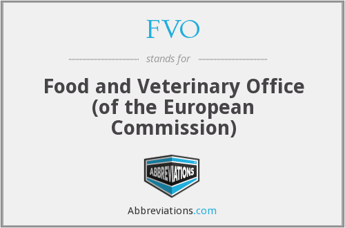 What does FVO stand for?