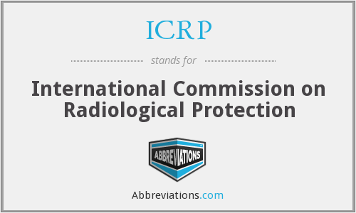 What does ICRP stand for?
