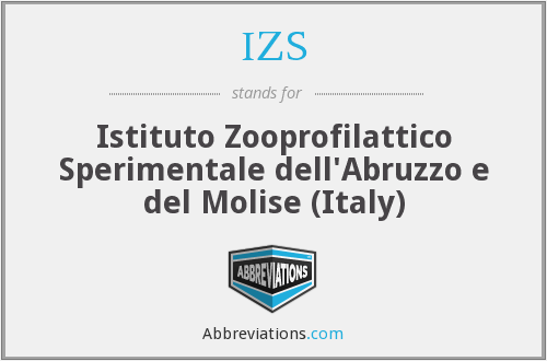 What does IZS stand for?