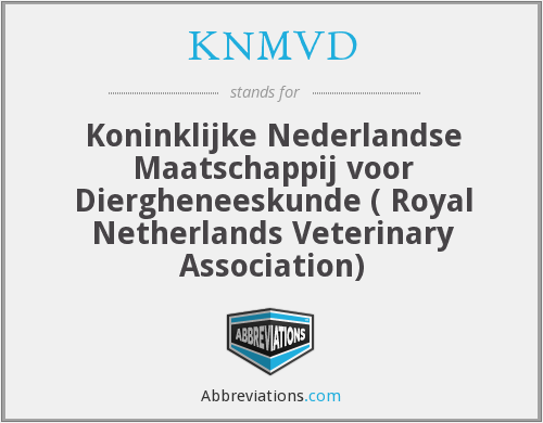 What does KNMVD stand for?