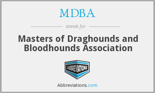 What does MDBA stand for?