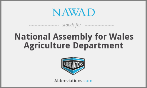 What does NAWAD stand for?