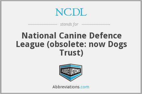 What does NCDL stand for?